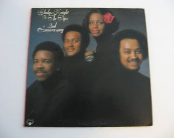 Gladys Knight & The Pips - 2nd Anniversary - With Poster - Circa 1975