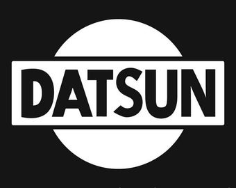 Datsun type Decal