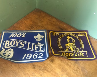 The Boys life Scout Patches