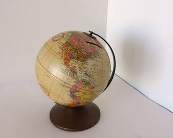 Vintage Metal 6 inch Replogle Globe Bank - The Revere