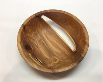 Red Cedar Wood Bowl Hand Turned Wood Bowl Rustic Food Safe