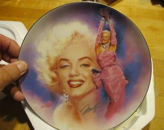 Marilyn Monroe Bradford exchange plate #2