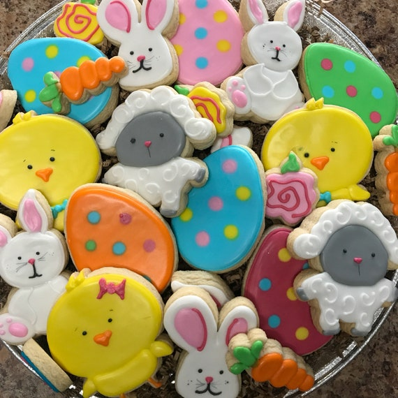 Easter Party Plate (pick up listing)