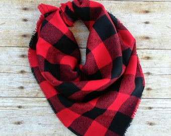 Dog Bandana, Buffalo Plaid Dog Bandana, Dog Bandana, Pet Bandana, Flannel Bandana, Christmas Bandana, Dog handkerchief, #dogs