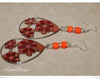 Earrings FlowerPower Women Jewelry magic earring Flowers Wire Earrings