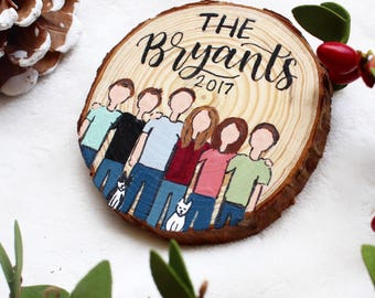 Family Magnet, Personalized Gifts, Kitchen Decor, Save the Date Magnet, Christmas Gift
