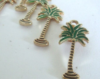 Palm Tree Charms