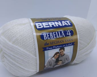 Bernat Berella 4 in color Winter White