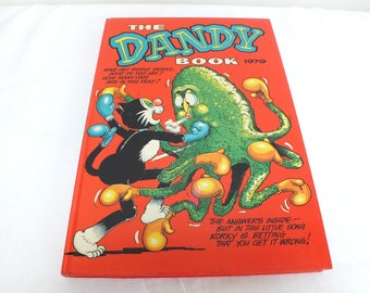 Dandy Annual 1979 Hardcover Old Annual Kids Annual Childrens Annual 1970s