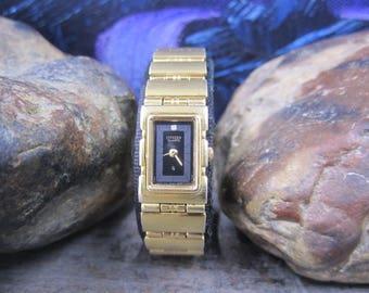 Ladies Citizen vintage quartz watch
