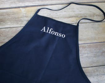 Personalized Adult Apron, Personalized Chef's Apron, Chef's Apron