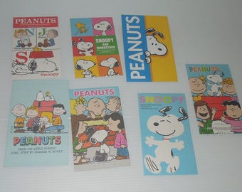 Snoopy & his friends 7 Design Envelopes