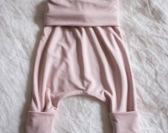 Bamboo Slouchy Pants for Infant Baby and Toddler