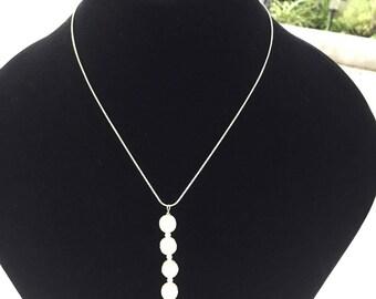 3 Freshwater White Pearl Drop