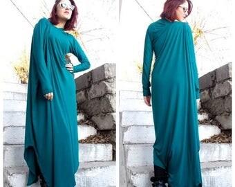 SALE 25% OFF Plus Size Maxi Dress / Asymmetric Kaftan / Extravagant Loose  Asymmetric Dress/ Plus Size Tunic / Oversize maxi dress/ Loose dr