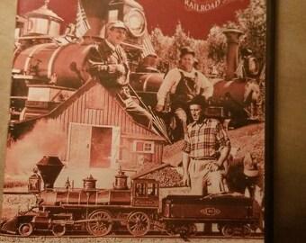 Walt Disney's Railroad Story on DVD  - Signed