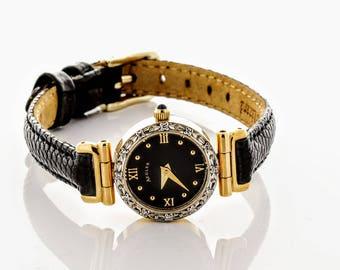 Aegler 14K Gold Swiss Movement Watch