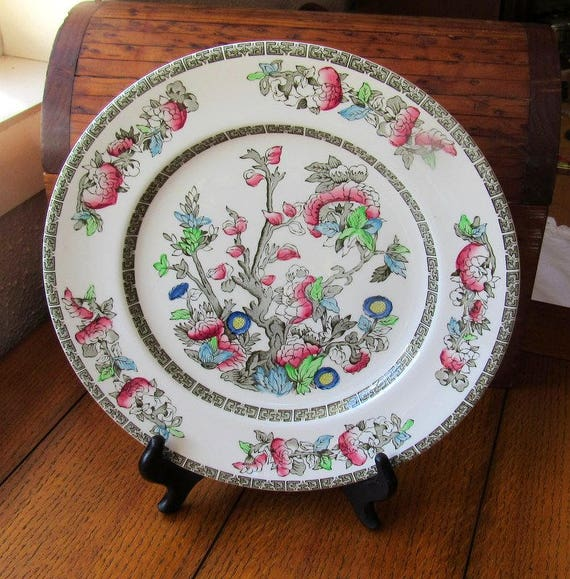 Indian Tree Dinner Plate Johnson Bros China
