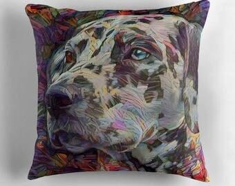 Dalmatian Gifts, Dalmatian, Dog Lover, Dog Decor, Dog Lover Gift, Dog Throw Pillows, Dog Cushion, Colorful Pillows, Dog Pillow