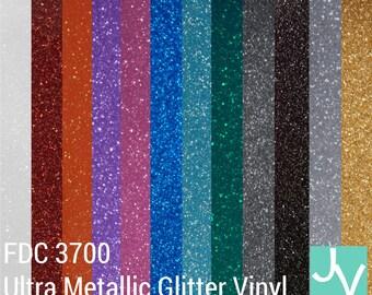 12x12 Glitter Adhesive Vinyl Permanent Outdoor Vinyl