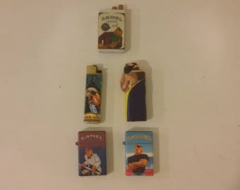 Vintage Camel Lighters and other Memorabilia, 1990's