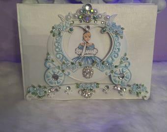 Cinderella signing book