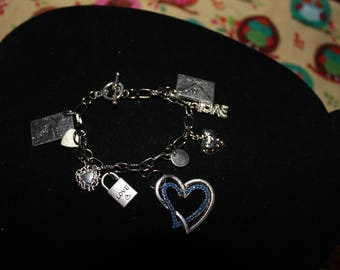 Love is in the Air Charm Bracelet