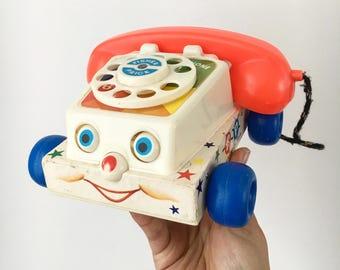 Vintage telephone toys