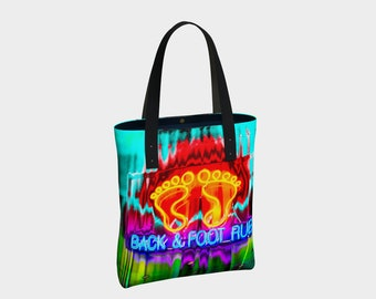 Urban Tote 06398:  Fine Art Photography, NYC, Foot Rub