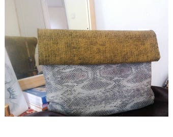 Large clutch purse fold over faux leather clutch large clutch fold over