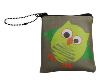 Little Packrats OWL Change Purse