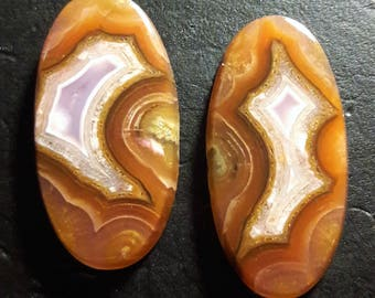 Agua Nueva 26x13mm (set of two)