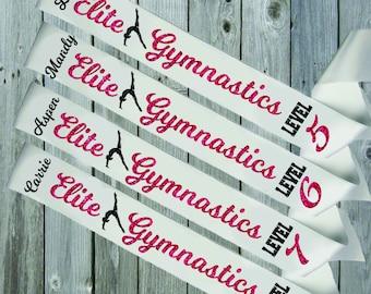 WHITE SASH Gymnastics Level Awards