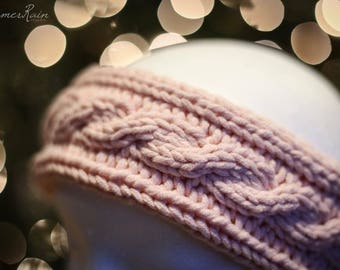 Cable Knit Earwarmer