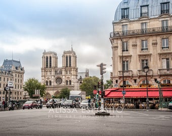 Notre Dame Cathedral, in the city of Paris, France. Fine Art Prints and Wall Art for your Home Decor in 8x10, 11x14, 16x24, 20x30