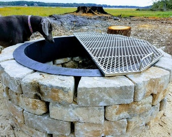 Stainless steel BBQ and Fire pit grates