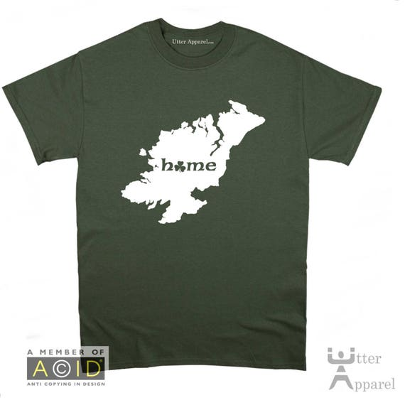 County Sligo Irish homeland t shirt, Ireland Counties, funny Irish t shirt Christmas birthday gift  Ireland Sizes S-2XL More colors.