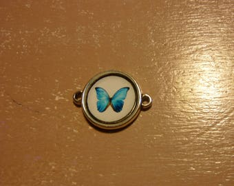 Butterfly cabochon