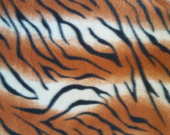 Tiger Skin Fleece (1.5 yards)