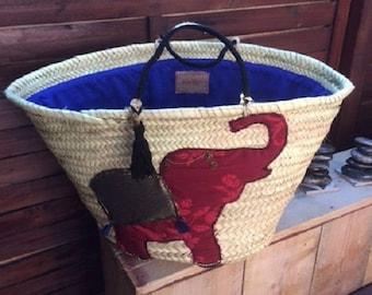 Basket - Basket beach bag - city - bag travel