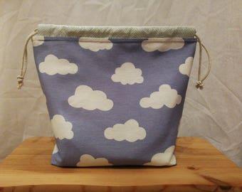 DrawString Cloud Bag Blue
