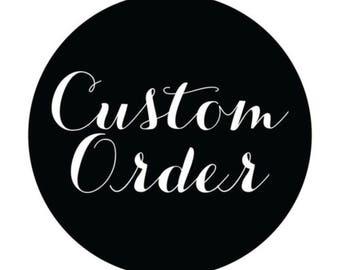 Custom burlap  pillow 16x16
