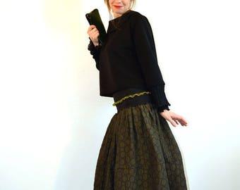 long skirt green