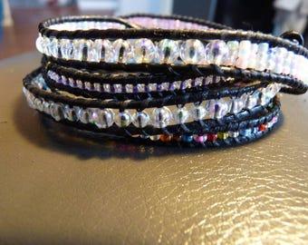 Colorful 4x wrap bracelet