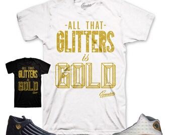 Jordan DMP 13 & 14  Glitters Shirt
