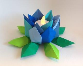 Origami Lotus Flower night light