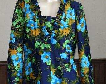 Vintage Long Dress - Maxi Dress