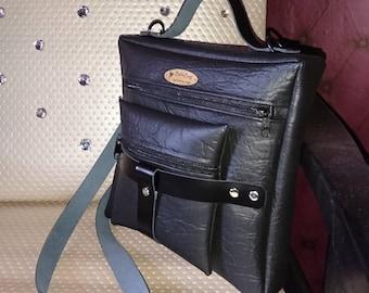 Chic Black Shoulder Bag