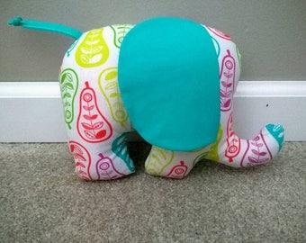 Stuffed Elephant - Pears