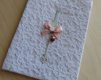"""Small 4""""x6"""" Fabric Covered Notebooks/Sketchbooks"""
